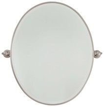 Minka-Lavery 1433-84 - Large Oval Mirror - Beveled