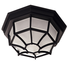 Savoy House 07066-BLK - Exterior Collections Flush Mount