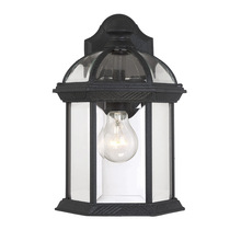 Savoy House 5-0634-BK - Kensington Wall Mount Lantern