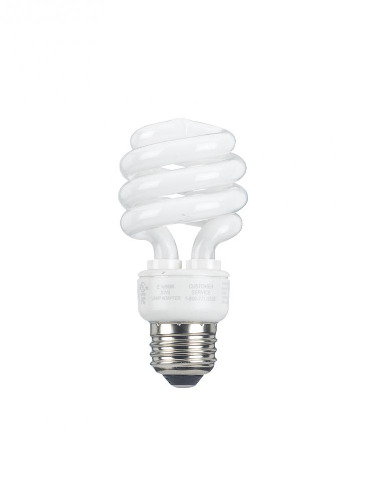 13W Self Ballasted CFL with E26 (screw in base)