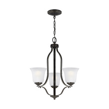 Sea Gull 3139003-782 - Three Light Chandelier