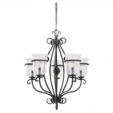 Sea Gull 3401-07 - Five-Light Manor House Chandelier