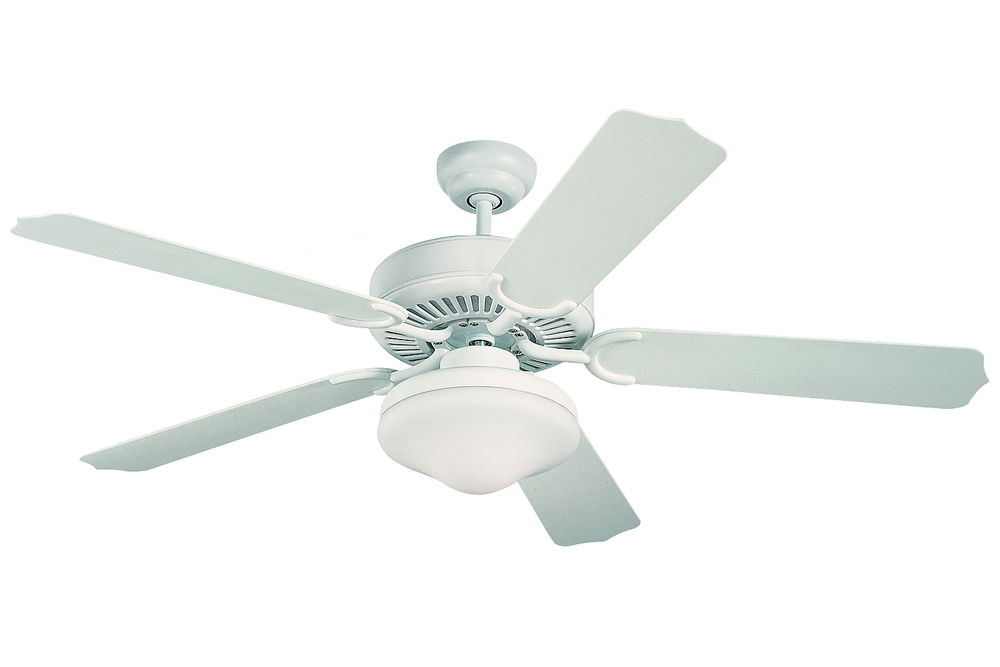 "52"" Weatherford Deluxe Outdoor Fan - White"
