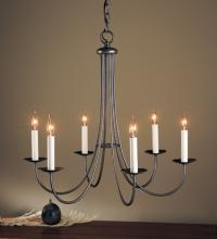 Hubbardton Forge 101160-SKT-07 - Simple Sweep 6 Arm Chandelier
