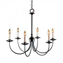 Hubbardton Forge 107060-SKT-10 - Simple Lines 6 Arm Chandelier