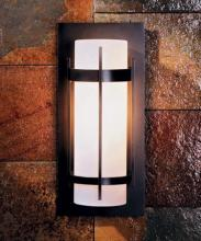 Hubbardton Forge 305893-LED-03-GG0034 - Banded Outdoor Sconce