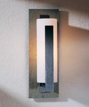 Hubbardton Forge 307286-LED-03-GG0034 - Forged Vertical Bars Outdoor Sconce