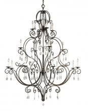 Feiss F2110/8+4+4MBZ - 16 - Light Multi-Tier Chandelier