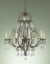 Feiss F2303/8MBZ - 8- Light Chandelier