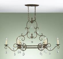 Feiss F2304/6MBZ - 6- Light Single Tier Chandelier