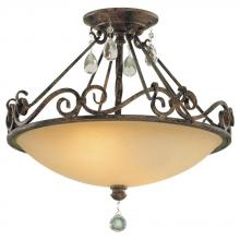 Feiss SF190MBZ - 2- Light Indoor Semi-Flush Mount