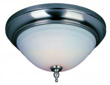 World Imports WI838502 - Montpellier Collection 2-Light Satin Nickel Ceiling Flushmount
