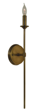 Framburg 4691 PN - 1-Light Polished Nickel Chandler  Sconce