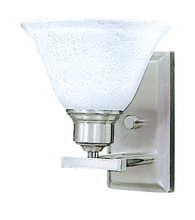 Framburg 9321 BS/PN - 1-Light Brushed Stainless Bellevue Sconce